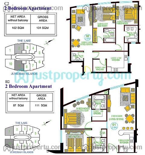 Icon Tower Apartments Floor Plans Justproperty Com