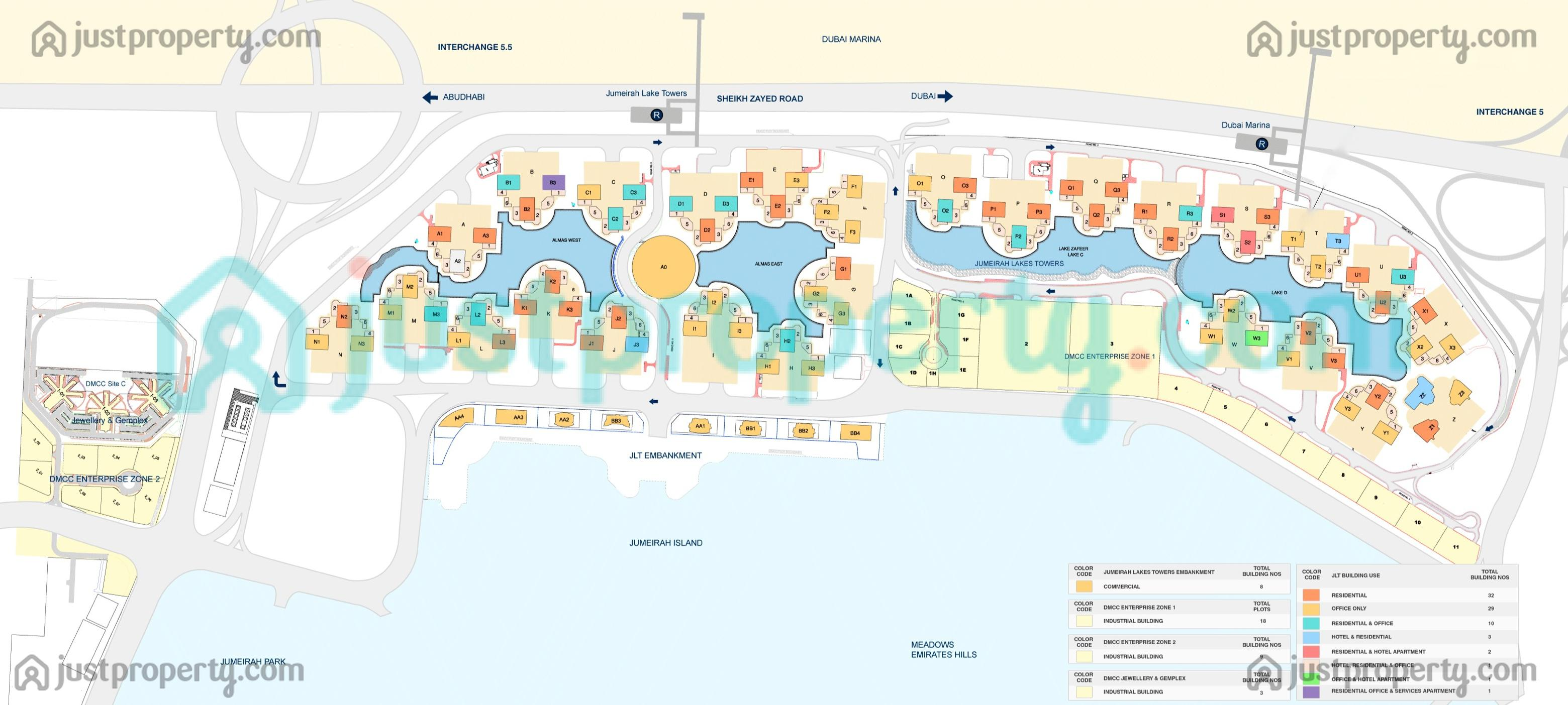 floor plans for jumeirah lakes towers jlt