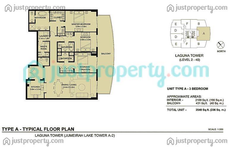 Laguna Tower Floor Plans Justproperty Com