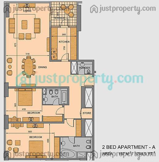 Liwa Heights Floor Plans | JustProperty com