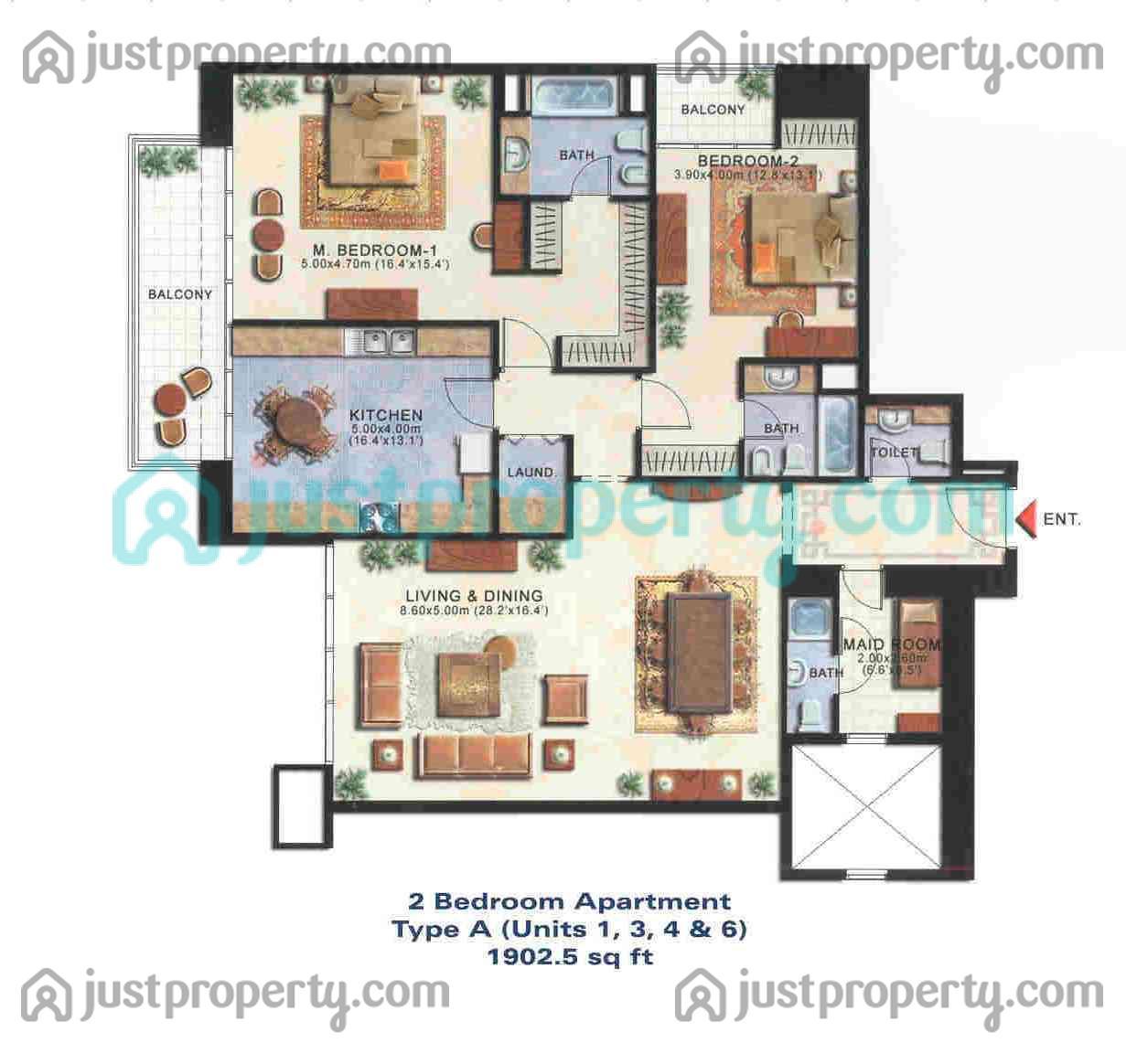 . Tamweel Tower Floor Plans   JustProperty com