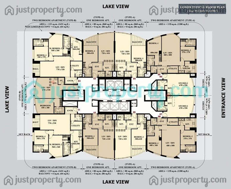 lake shore tower floor plans justpropertycom