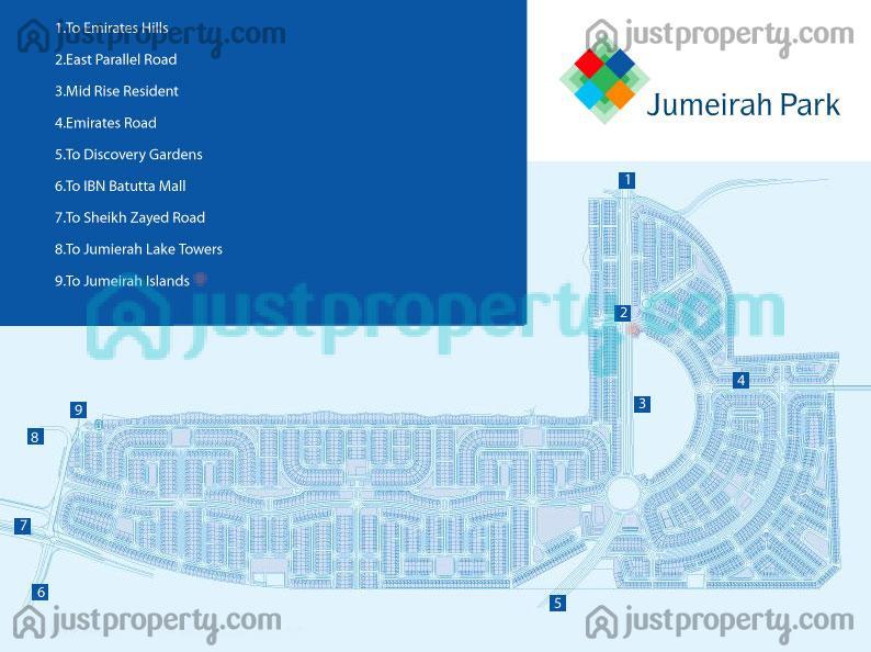 Floor Plans for Jumeirah Park