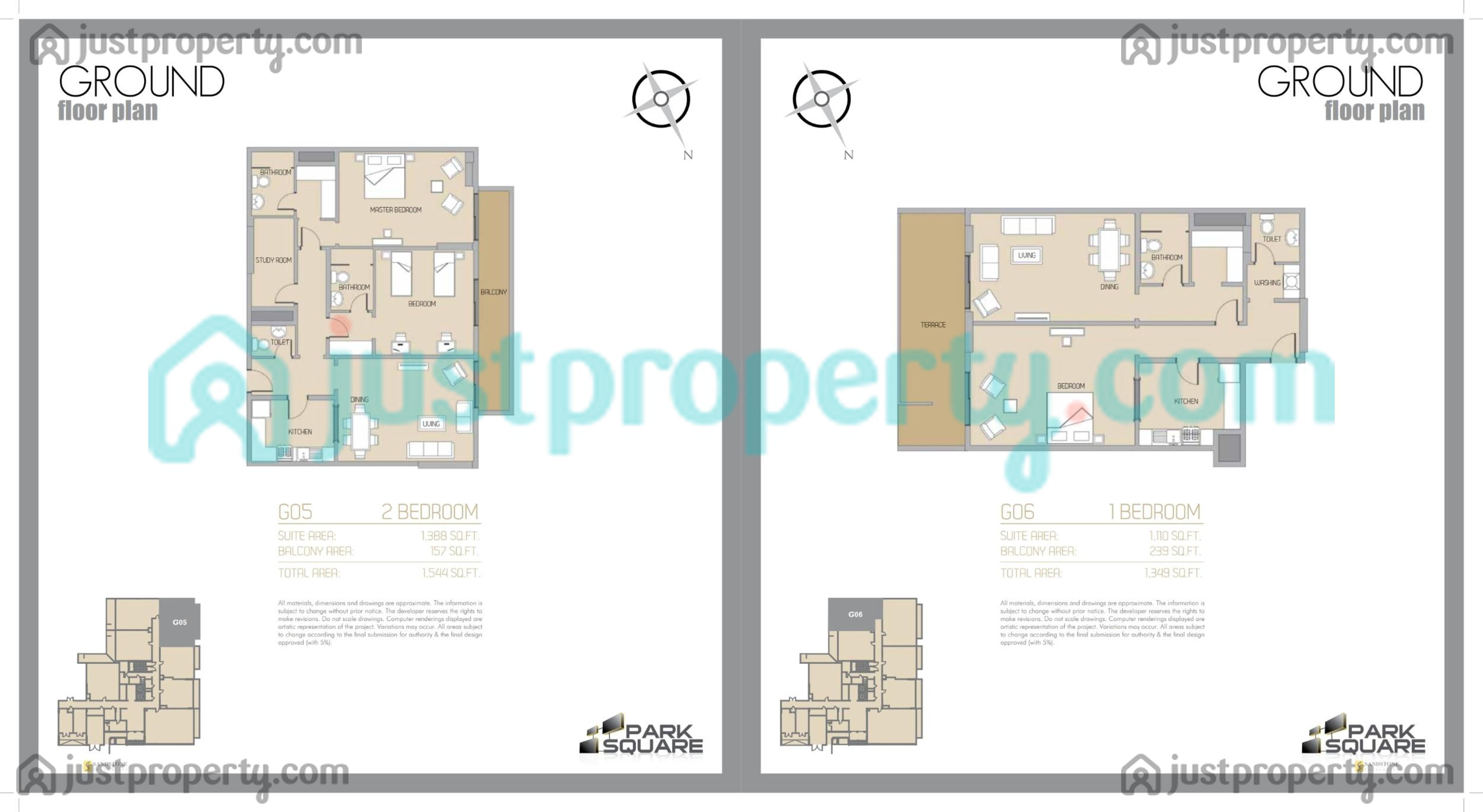 Park square floor plans for Floor plans jumeirah park