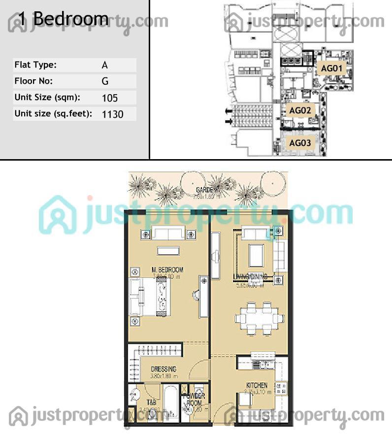 Plaza residences floor plans for Floor plans jumeirah islands