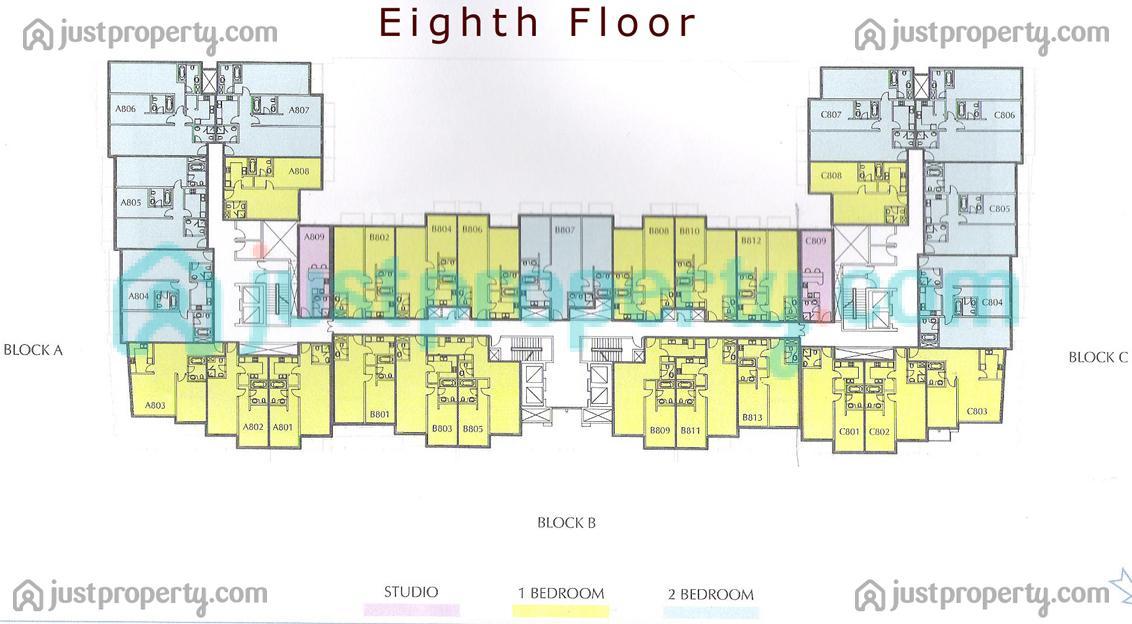 Version 2 floor plans for 12 yonge floor plans