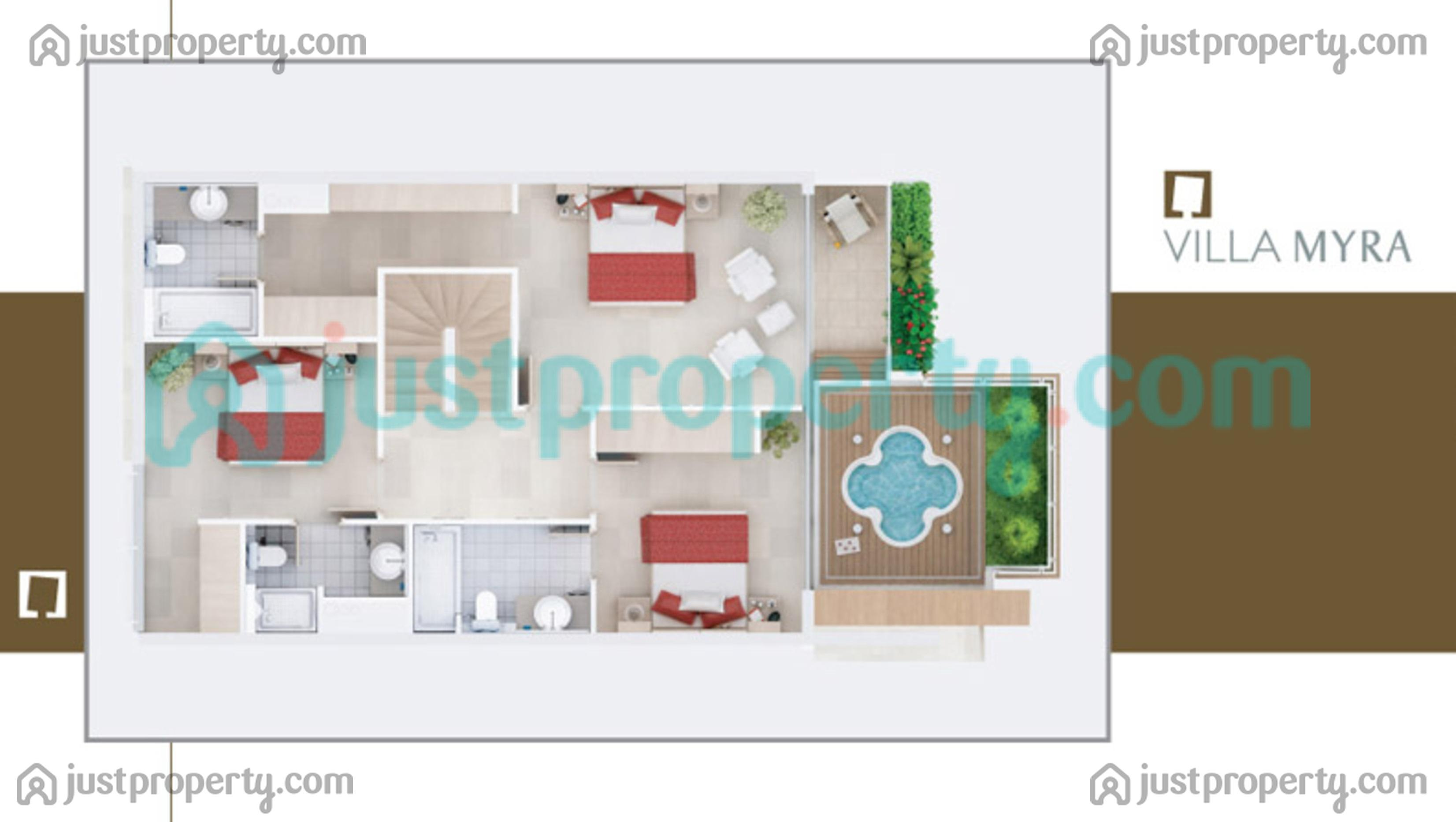 Villa heights floor plans for Floor plans jumeirah heights