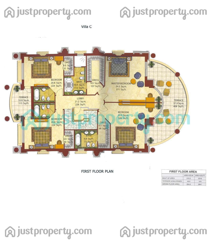 Villas floor plans for Villas floor plans
