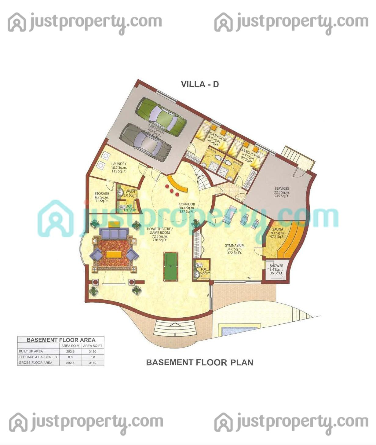 Villas floor plans for Villa floor plans