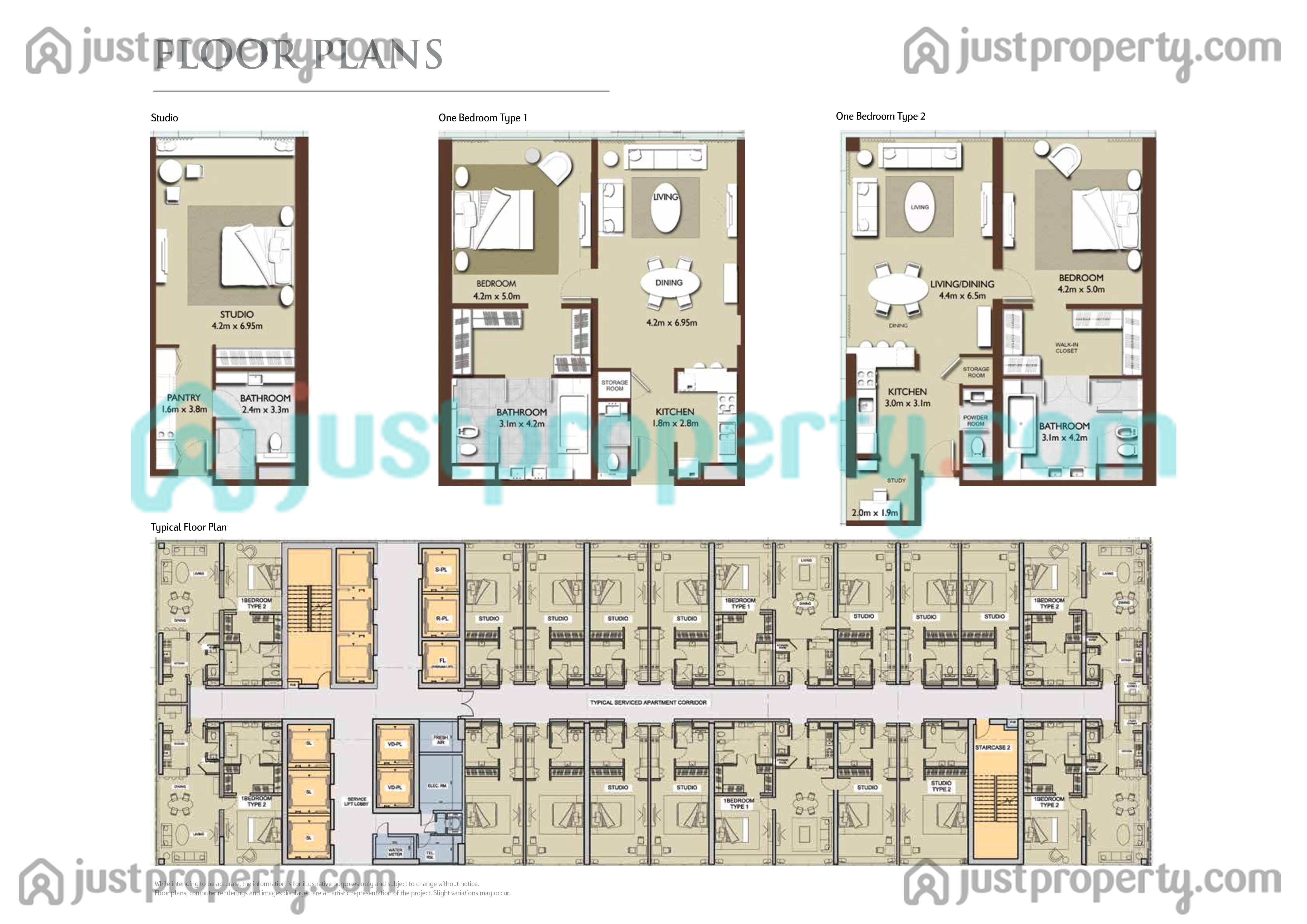 Version 1 floor plans for Floor plans jumeirah islands