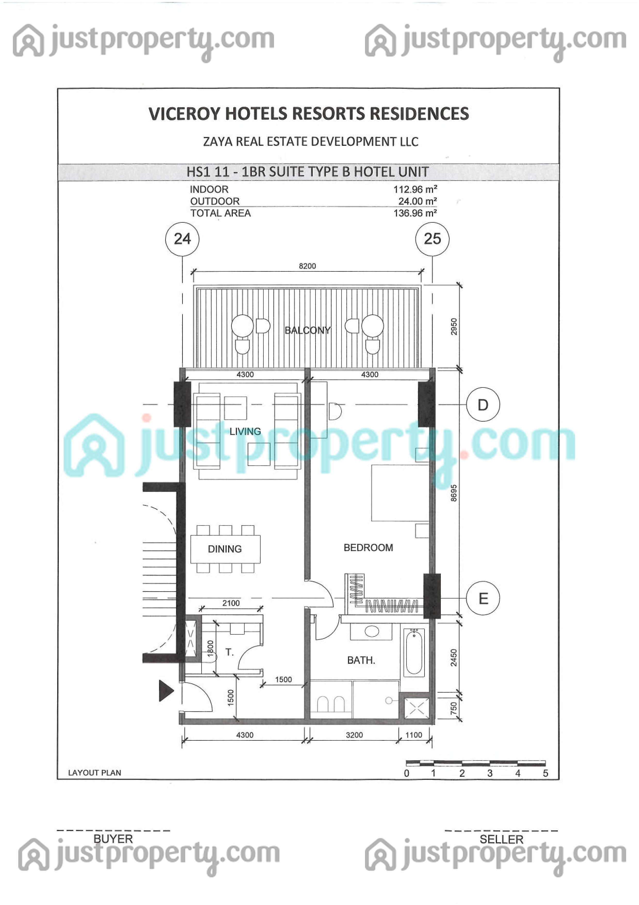 Viceroy Signature Residences Floor Plans | JustProperty.com
