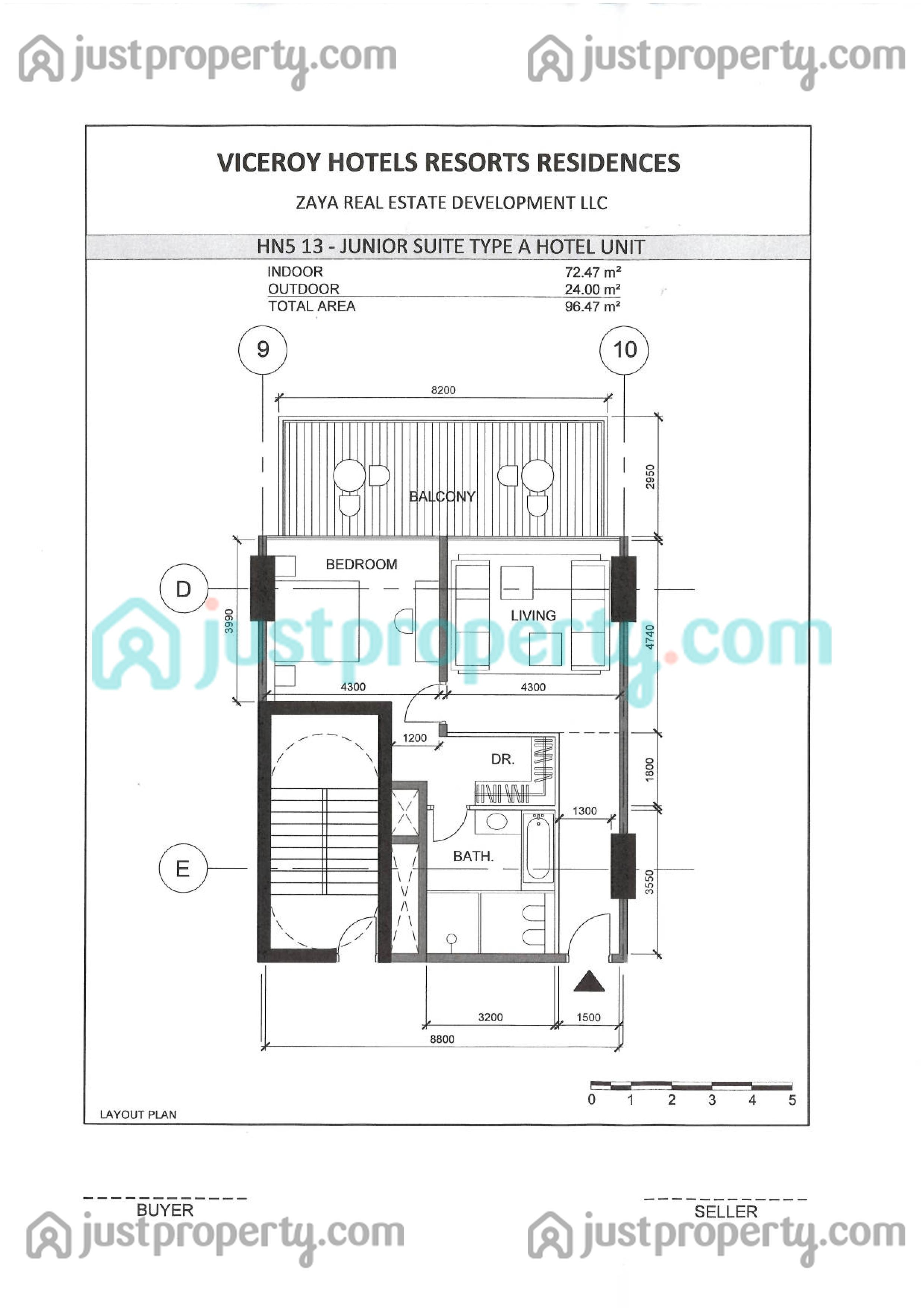Viceroy signature residences floor plans for Viceroy floor plans