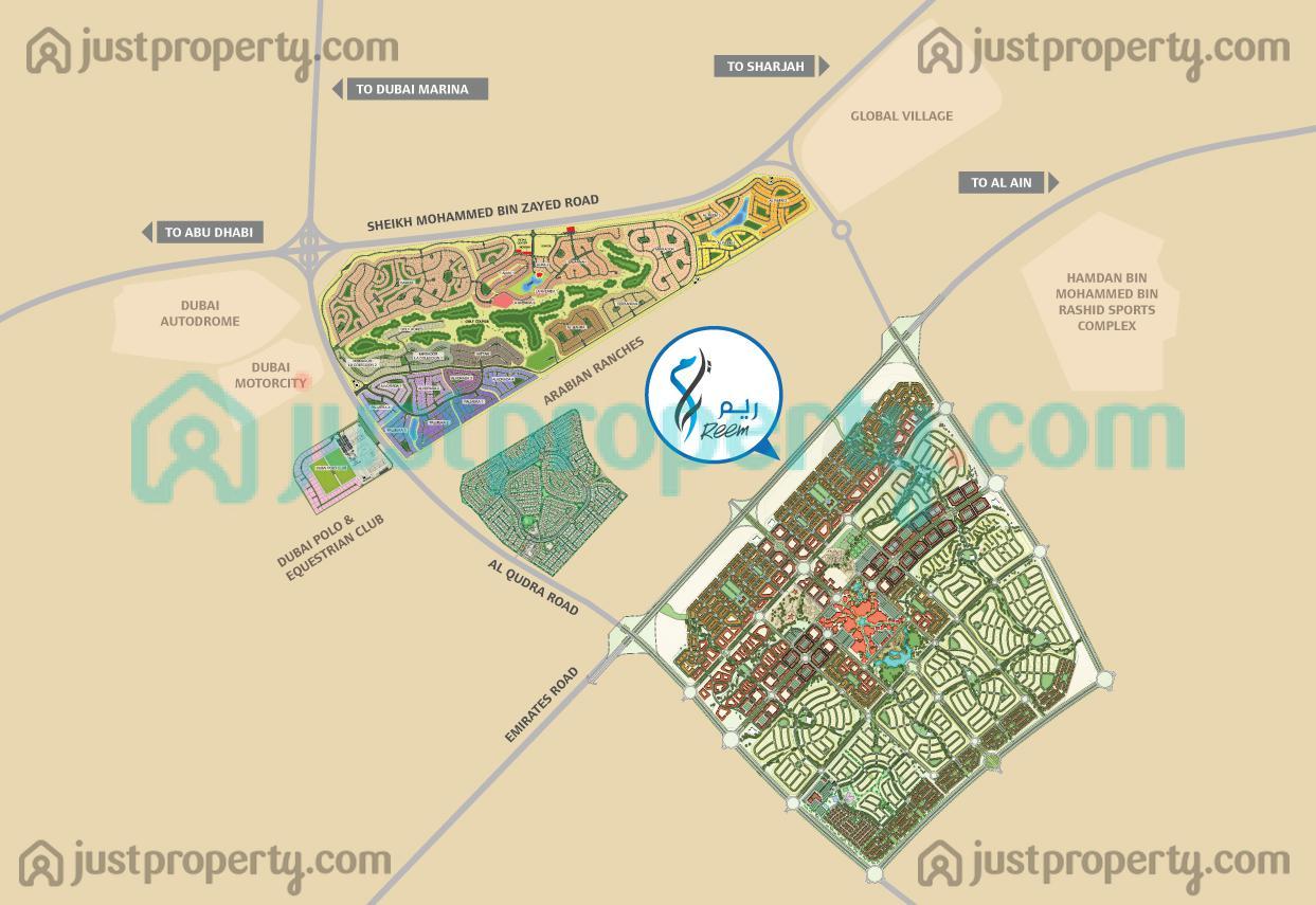 Floor Plans for Reem Development