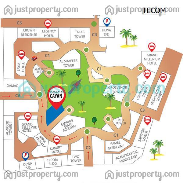 Floor Plans for Tecom