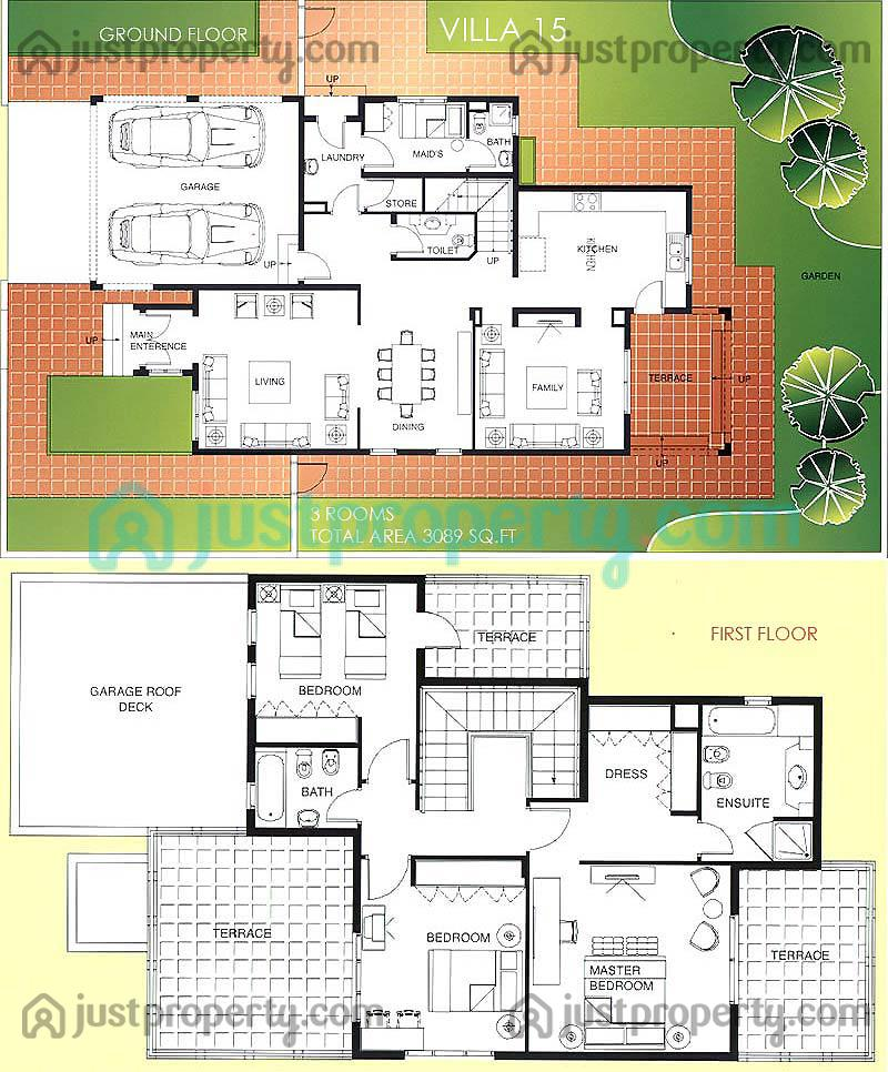 meadows villas floor plans