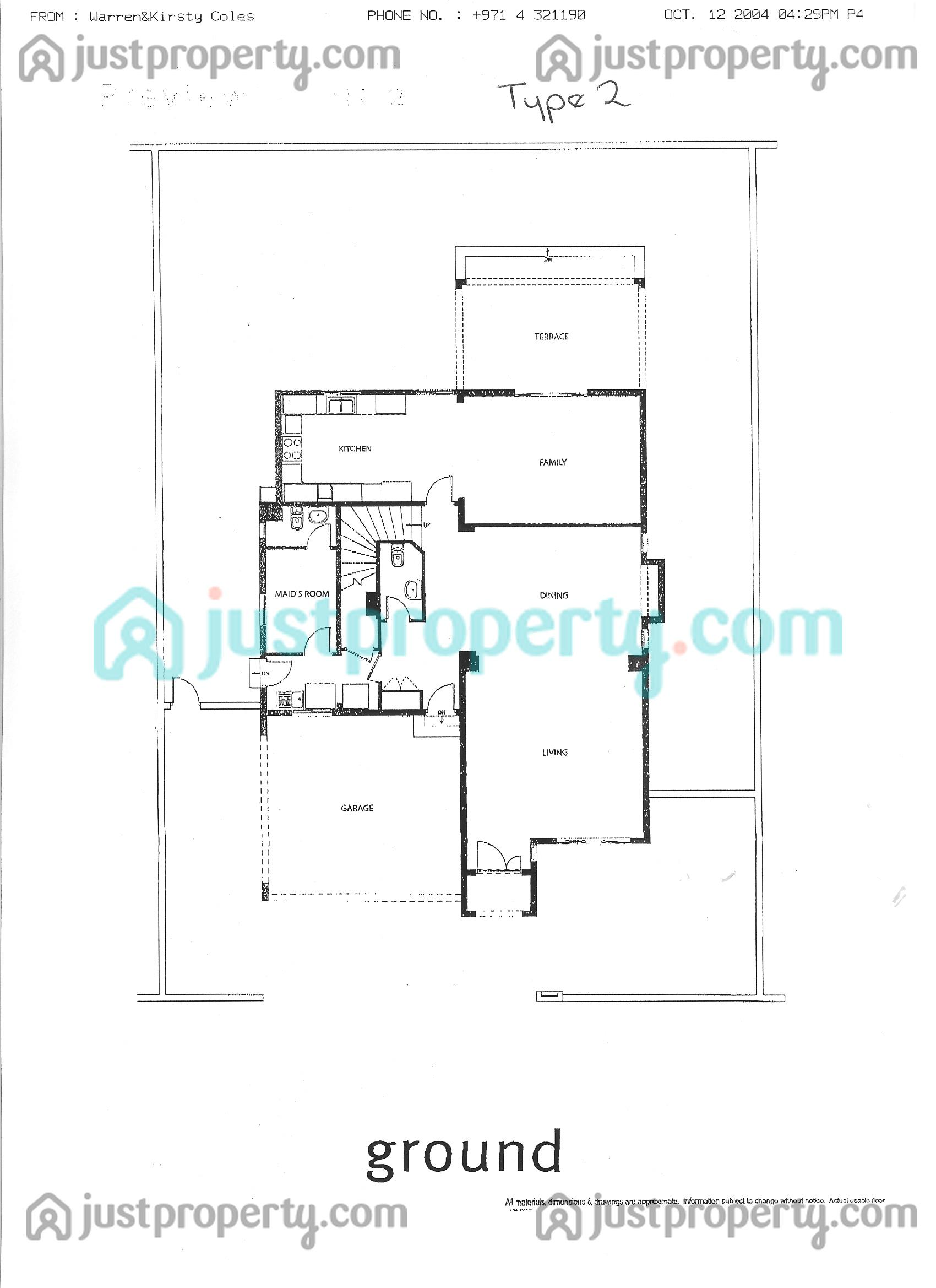 Meadows Villas Floor Plans | JustProperty.com