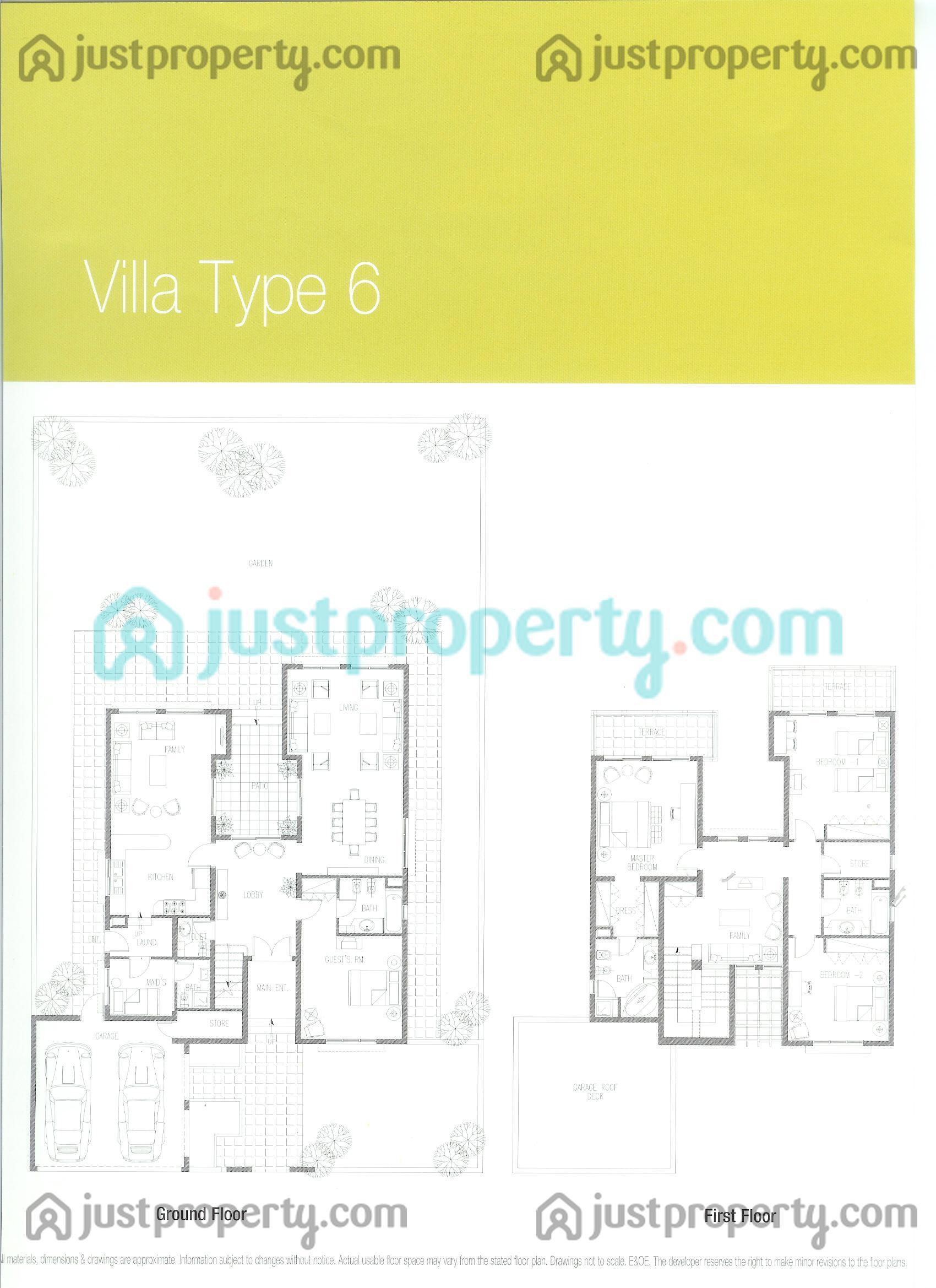 meadows villas floor plans justproperty com