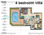 Floor Plans for Casa Del Mar